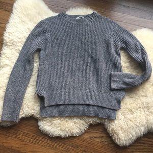 Chunky Knit Side Zip Sweater